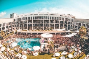 ibiza rocks hotel pool view room closing festival 2018