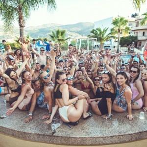 Malia Pool Party