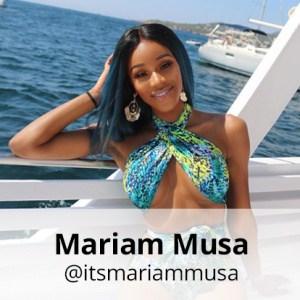 mariam musa pukka up boat party ibiza